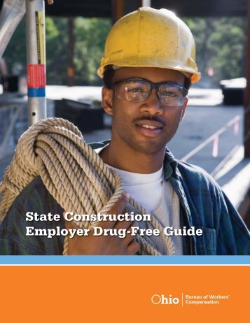 State Construction Employer Drug-Free Guide - Ohio Bureau of ...