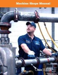 Machine Shops Manual - Ohio Bureau of Workers' Compensation
