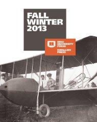 2013 Fall/Winter - Ohio University Press & Swallow Press