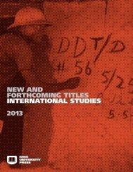 2013 International Studies - Ohio University Press & Swallow Press