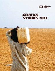 African Studies Catalog, November 2012 - Ohio University Press ...