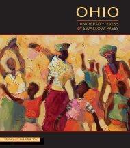 University Press & swallow Press - Ohio University Press & Swallow ...