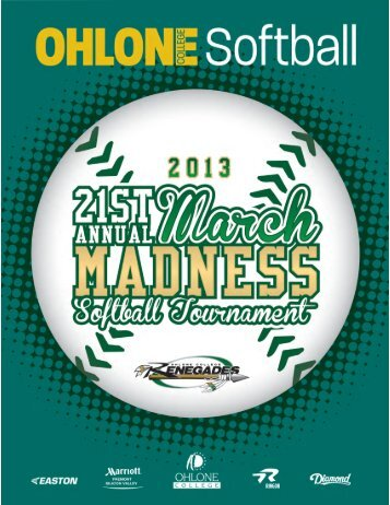 2013 March Madness - Ohlone College