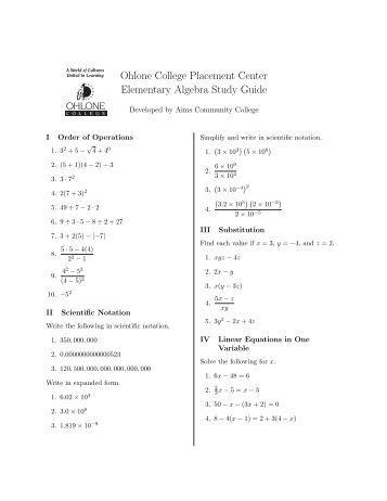 Algebra essay questions