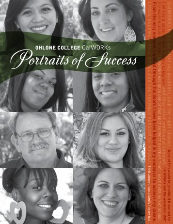 CalWORKs Portraits of Success 2013 - EOPS - Ohlone College