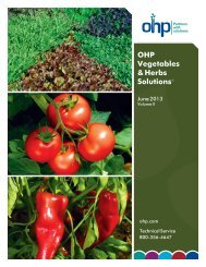 Vegetable & Herbs - OHP, Inc.