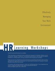 HRLearningWorkshop FMLA ADA Harassment.indd - Georgia Tech ...