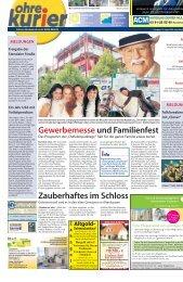 Gewerbemesseund Familienfest Zauberhaftes im Schloss - ohre-kurier