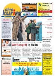 Wolfsangriff in Zielitz - ohre-kurier