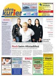 Rockbeim Altstadtfest - ohre-kurier