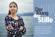 Der Klang der Stille - Aus Readers Digest November 2006