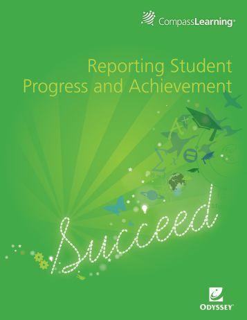Reporting Student Progress and Achievement - Oakland High School