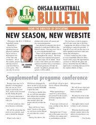Fall 2011 - Ohio High School Athletic Association