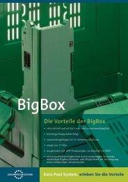 Die Vorteile der BigBox - Euro Pool System