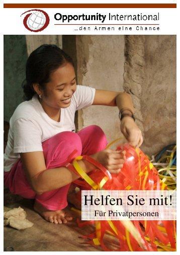Spenden Privatpersonen_Schweizer Version - Opportunity ...