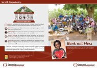 Bank mit Herz - Opportunity International Deutschland