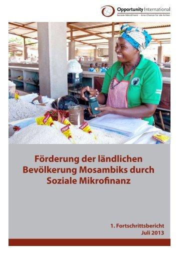 Förderung der ländlichen Bevölkerung Mosambiks durch Soziale ...