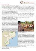Förderung der ländlichen Bevölkerung Mosambiks durch Soziale ... - Page 2