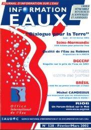 Lire le n° 528 - Office International de l'Eau