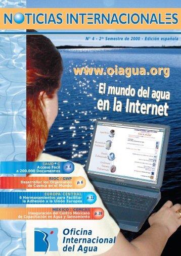 Noticias Internacionales - Office International de l'Eau