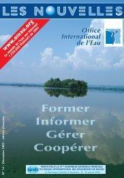 N°14 - Décembre 2003 - Office International de l'Eau