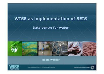 WISE as implementation of SEIS WISE as implementation of SEIS