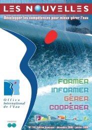 N°19 - Décembre 2008 - Janvier 2009 - Office International de l'Eau
