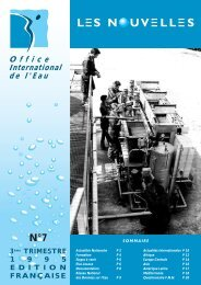 N°7 - Office International de l'Eau