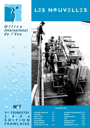 N°7 - Office International de l'Eau