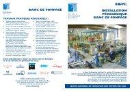 plaquette test - Office International de l'Eau
