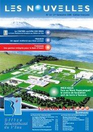 N°10 - 2nd semestre 1999 - Office International de l'Eau