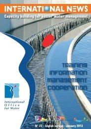 23 - January 2013 - Le monde de l'eau