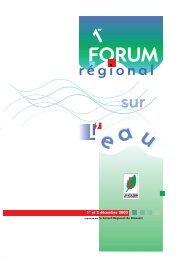 L'eau en Limousin - Décembre 2003 - Office International de l'Eau