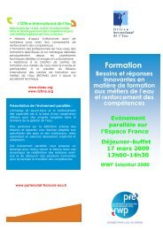 Flyer SE formation V5 - Office International de l'Eau