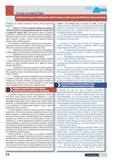 vol 76 n° 4 2011 - Office International de l'Eau