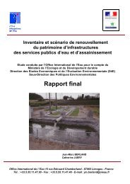 Rapport final - Office International de l'Eau