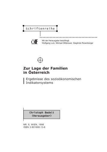 Zur Lage der Familien in Österreich - Österreichisches Institut für ...