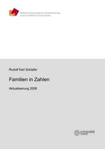 Familien in Zahlen 2008 - Österreichisches Institut für ...