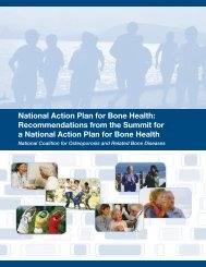 National Action Plan for Bone Health - Osteogenesis Imperfecta ...