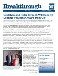 Breakthrough - Osteogenesis Imperfecta Foundation