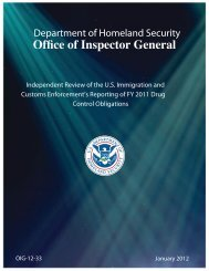12-33 Independent Review of the US Immigration and Customs ...