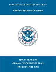 FY 08 Annual Performance Plan, Revised April 2008 - Office of ...
