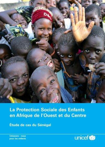 La Protection Sociale des Enfants en Afrique de l'Ouest et du Centre ...