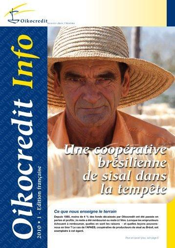 lettre d-information 2010-1_1.pdf - Oikocredit
