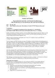 1 Seminar und Webinar Regenwaldschutz durch Bio- und Fairtrade ...