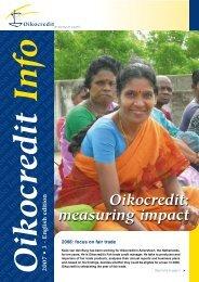 ASA and UMFI - Oikocredit