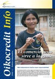 El comercio justo sirve a la gente - Oikocredit