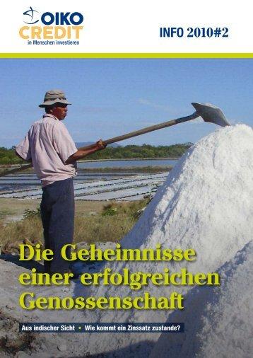 Die Geheimnisse einer erfolgreichen Genossenschaft - Oikocredit ...
