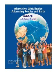 Alternative Globalization Addressing Peoples and Earth (AGAPE)