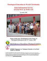 Ministerial Formation No - World Council of Churches